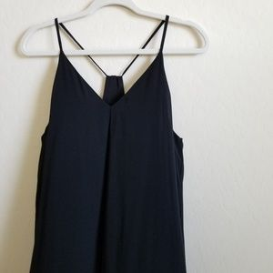 Alice + Olivia Fierra Y-Back Silk Slip Dress S